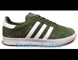 Кеды Adidas Spezial зеленые