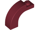 Brick, Arch 1 x 3 x 2 Curved Top, Dark Red (6005 / 4629912 / 6028713)