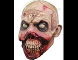 Страшная маска, мОНСТР, Halloween, страх, маскарад, зомби, horror, латексная, обгрызаный зомби