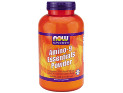 NOW Amino-9 Essentials Powder (330 гр)