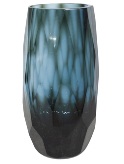 Ваза Dome Deco vase glass with facet S