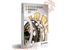 Autodesk AutoCAD Inventor LT Suite 2017 Commercial New Single-user ELD Quarterly Subscription with Advanced Support