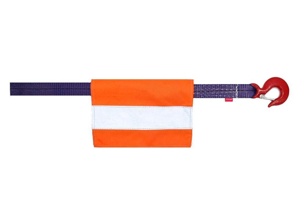 Флажок со светоотражающей лентой для буксировочного троса.