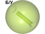 ! Б/У - Bionicle Zamor Sphere Ball, Trans-Bright Green (54821 / 4296080 / 4655587) - Б/У
