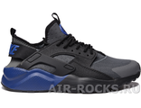 NIKE AIR HUARACHE ULTRA GS Black/Grey (Euro 41-45) HR-108