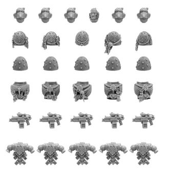 RAVEN GUARD SPACE MARINES UPGRADE PACK