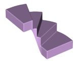 Stairs 6 x 6 x 4 Curved, Lavender (28466 / 6178331)