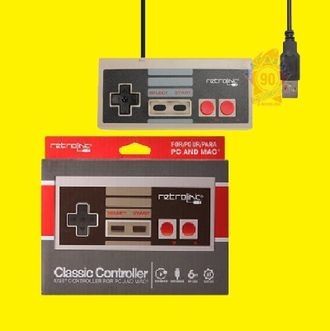 Джойстик USB формы NES for PC(Controller) in box.