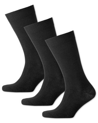 Носки CHARLES TYRWHITT Multi cotton rich 3 pack socks