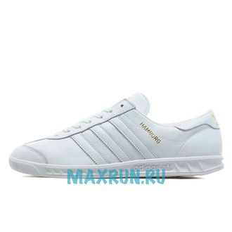 Adidas Hamburg White Gold Leather (37-40)