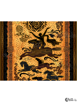 art-композиция «сүйінші».
