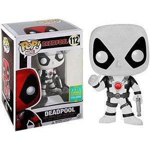 Фигурка Funko POP! Deadpool (Movie) (Thumbs Up) (White) [Summer Convention] - Фанко ПОП! Дэдпул (бел