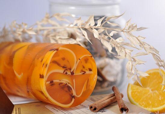 Как сделать мыло-апельсин