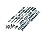 930-0123 S&S Cycle Quickee Adjustable Pushrods with Cover Keepers for 2017-19 M8 Models