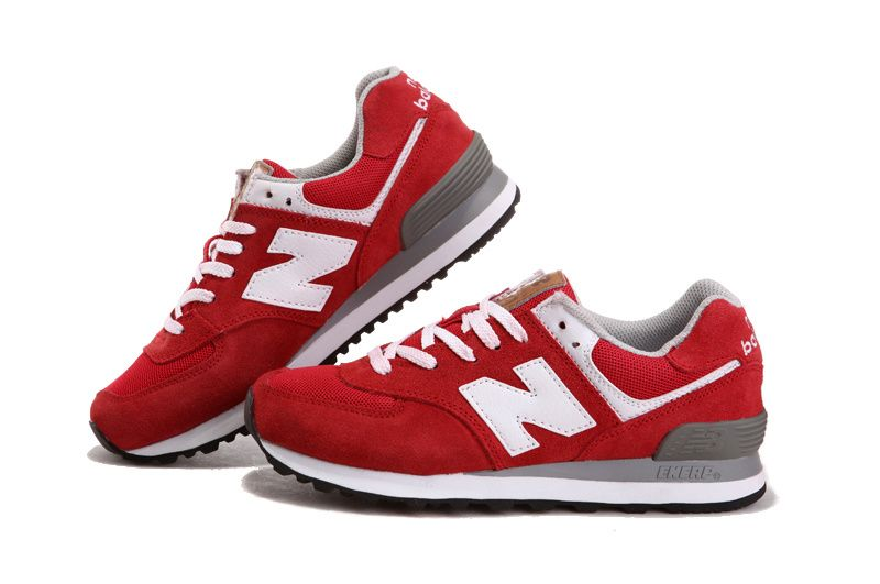Купить кроссовки NEW BALANCE 574 red в Екатеринбурге 12ebcb313b63b