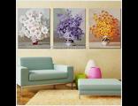 Нежные цветы (триптих)
