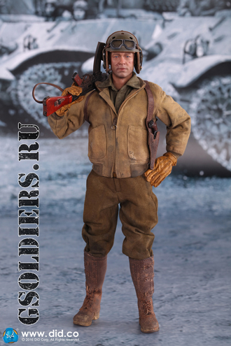 Коллекционная фигурка 1/6 WWII US 2nd Armored Division SSGT Donald Special Edition (A80113S) - DID