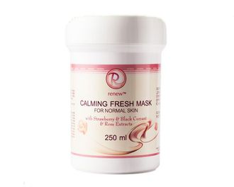 Calming Fresh Mask for normal skin with Strawberry Balck Currnat Rose Extracts  250 ml