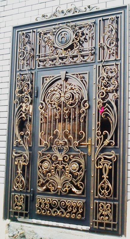 элитные кованные входные двери