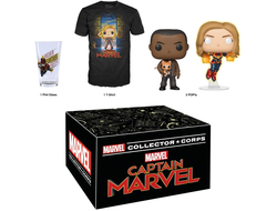 "MARVEL Collector Corps ""CAPTAIN MARVEL""  - МАРВЕЛ Коллекционный набор Колллектор корпс ""КАПИТАН МАРВЕЛ"""