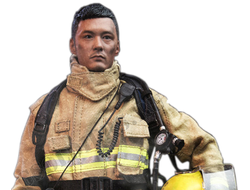 Пожарный - КОЛЛЕКЦИОННАЯ ФИГУРКА 1/6 Fire Hero Shawn Yue Collection Action Figure New Box (RM1040) - Enterbay