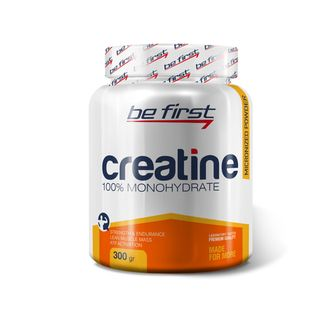 (Be First) Creatine Micronized Powder - (300 гр) - (малина)