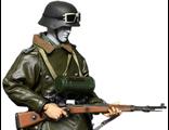 ПРЕДЗАКАЗ - Мтотоциклист - коллекционная фигурка 1/6 WWII German Grossdeutschland Division Motorcycle Driver Set (TC-6810) - Toys city