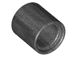 Technic, Pin Connector Round 2/3 L, Pearl Dark Gray (18654 / 6236395)