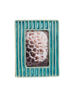 Фоторамка PHOTO FRAME JARZEN TURQUOISE 23X18CM EARTHENWARE арт. 30857