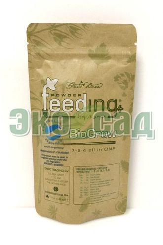 Powder Feeding BIO Grow 125 гр