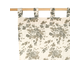Шторы 200545 CURTAIN MARIE-LISE TAUPE 270X135CM COTTON