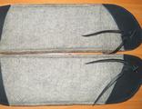 Лыжи для ленчика седла