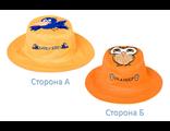 Двухсторонняя детская панама FlapJacks Сова Птичка