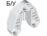! Б/У - Technic, Pin Connector 3 x 3 with Axle, White (32175 / 4125367) - Б/У