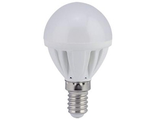 TF4W40ELC Лампа светодиодная Ecola Light globe LED 4.0W G45 E14 2700K 77x45