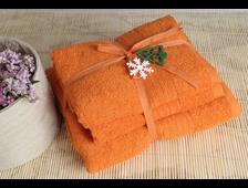 полотенца Shalla оранж