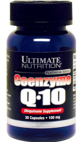 Ultimate Nutrition Coenzyme Q10 100% Premium 100mg (30 капс)
