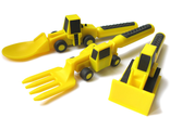 Детские столовые приборы Constructive Eating Construction Line