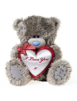 Мишка Me to you с сердцем I love you 20 см