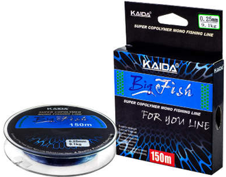 Леска KAIDA BigFish 150м, 0,16