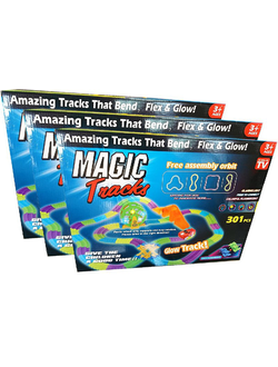 Magic Tracks 301 деталь - 3 набора