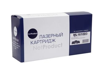 Картридж NetProduct (N-ML-1610D3) для Samsung ML-1610 /2010 /2015 /Xerox Ph 3117 /3122, 3K