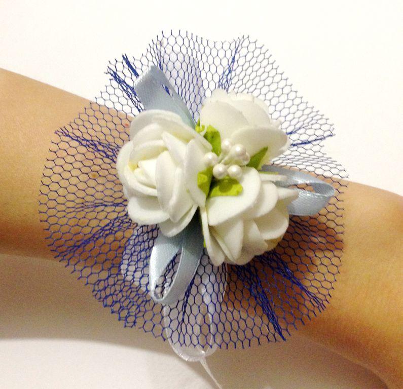 Повязки на руку подружкам невесты своими руками 12