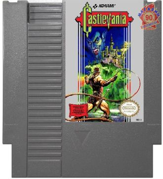 """Castlevania"" Игра для NES (Made in Japan)"