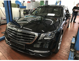 Factory armored Mercedes-Benz S600 V222 Guard VR9, 2018 YP