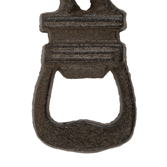 Открывашка 200486 BOTTLE OPENER CAMPAGNE NATURAL 7X13CM CAST IRON