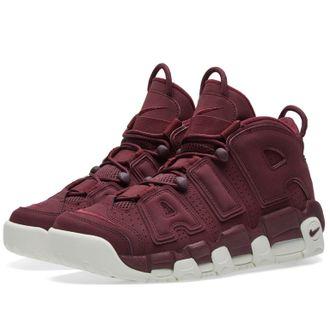 ad2e672e Купить кроссовки NIKE AIR MORE UPTEMPO SUPREME Бордовые Sneakers96 ...