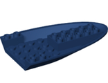 Aircraft Fuselage Curved Forward 6 x 10 Bottom with 3 Holes, Dark Blue (87611 / 6221673)