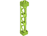 Support 2 x 2 x 10 Girder Triangular Vertical - Type 4 - 3 Posts, 3 Sections, Lime (95347 / 6117028)