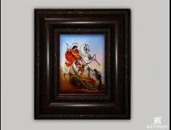 Святой Георгий Победоносец. Заказать икону.